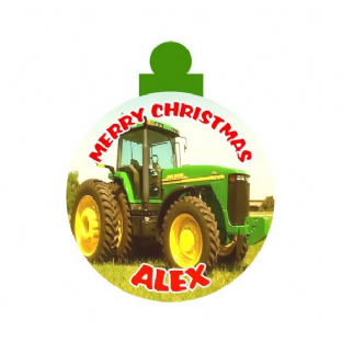 John Deere Christmas Ornament Decoration